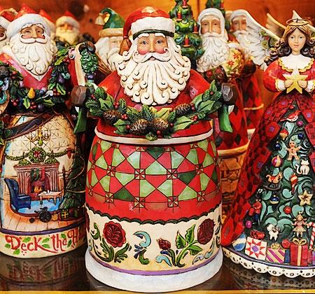 Santa christmas collection shore collection collection santa merry