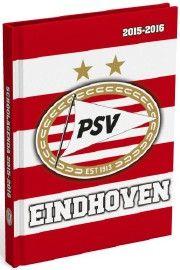 PSV: Schoolagenda stripes - Kalenderjaar 2015/2016