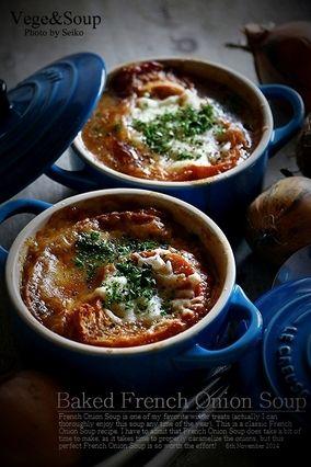 【Easy Recipe】玉ねぎがとびきりのご馳走に♪ 自家製オニオン・グラタン・スープ|レシピブログ