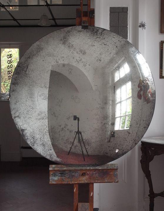 Convex mirror, antiqued, 1000mm                              …