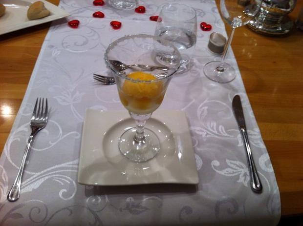 Rezept: Orangensorbet