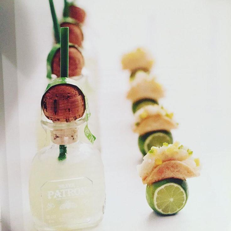 """Mini Margaritas with Cod Tacos from """"Bite by Bite""""Happy Cinco de Mayo Day! #cincodemayo #cinco #foodporn #foodie #foodies #margaritas #minimargaritas #mini #minitacos #minihorsd"""