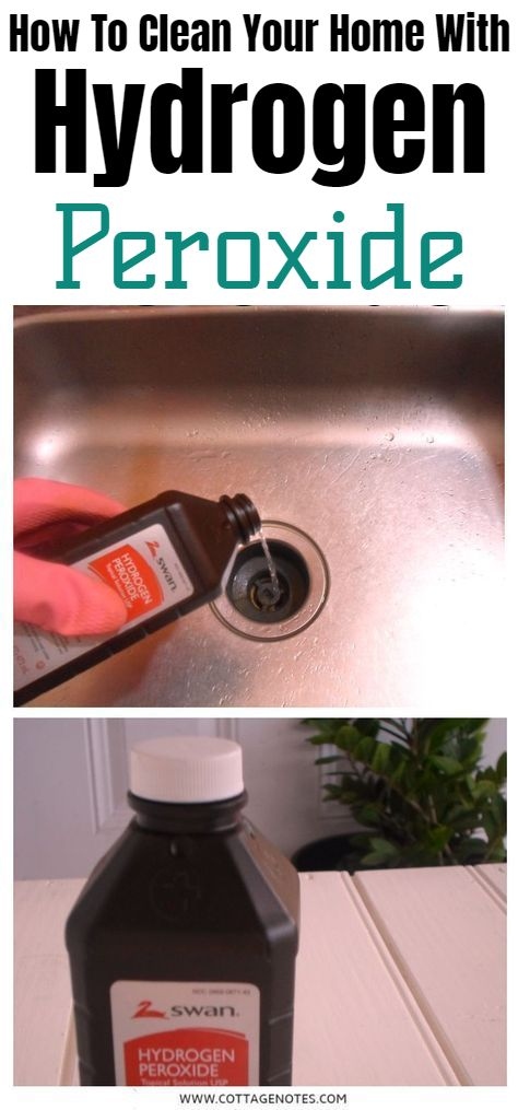 how to prepare hydrogen peroxide at home
