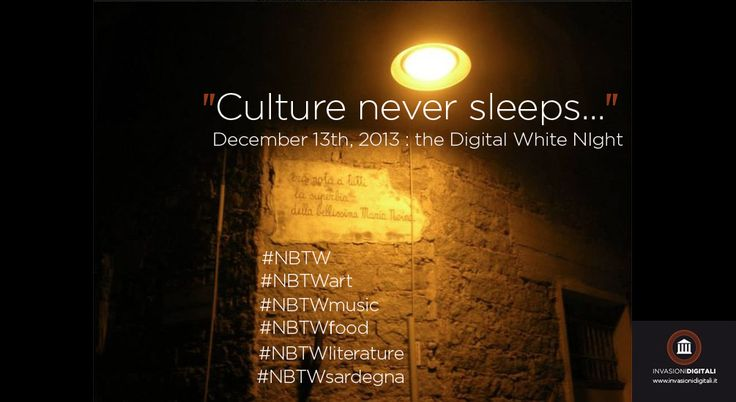 December 13th, 2013: the digital white night! Stay tuned! #NBTW