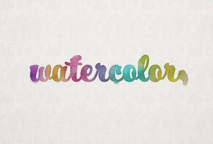 How to Create a Watercolor Inspired Text Effect in Adobe Photoshop  Design Psdtuts