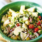 Een heerlijk recept: Aardappelsalade met tomaten olijven en kappertjes