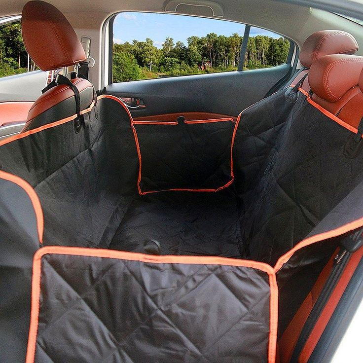 Large Dog Seat Cover With Side Flaps