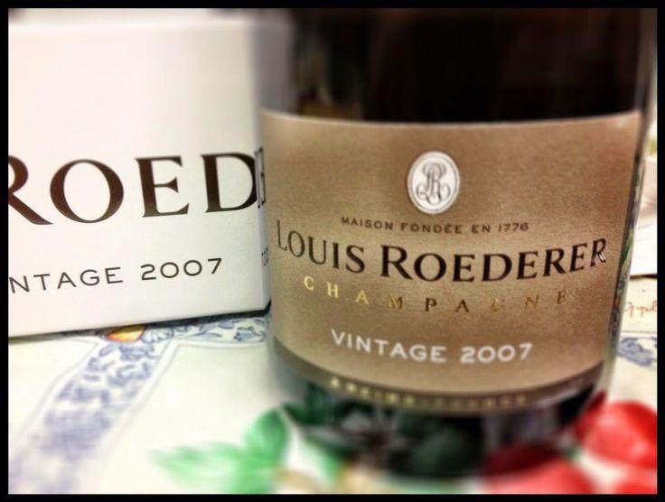 El Alma del Vino.: Champagne Louis Roederer Brut Vintage 2007.