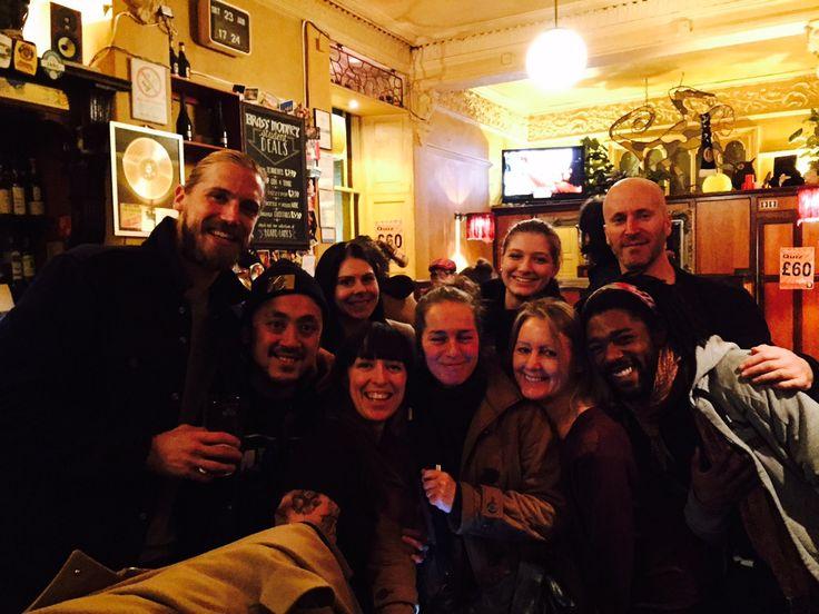 Celebrating in Edinburgh