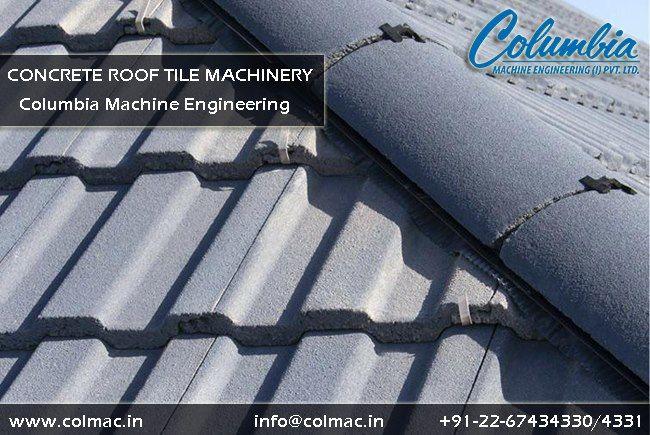 Concrete Rooftile Machinery Columbiamachine Offers The Uno Evoluzione Range Of Concrete Roof Tile Machinery Manufactured Roof Tiles Concrete Roof Tiles Roof
