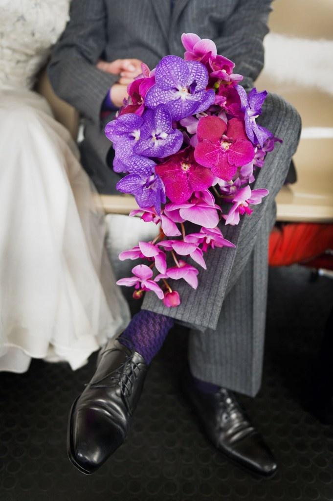 Beautiful Orchid Bouquet, Photo by Dina Litovsky: Http Www Nycweddinginvit Org, Bouquets Purple, Bouquets, Nyc Florists, Floral Bouquets, Orchids Bridal Bouquets, Flowers Ideas, Beautiful Orchids, Orchids Bouquets