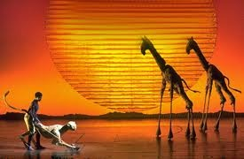 Lion King at the London West End... it is magical...