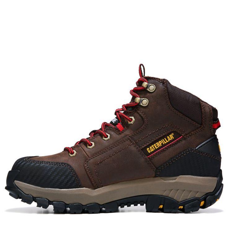 Caterpillar Men's Navigator Mid Medium/Wide Waterproof Steel Toe Boots (Clay Brown) - 10.0 M