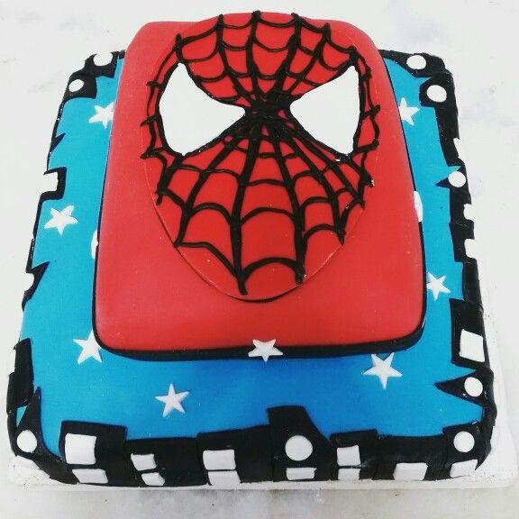 4 yaş Spiderman pasta. #cake #handmade #elyapımı #sekerhamuru #pasta #spiderman #renkli #katkısız #kisiyeozelpasta #ozeltasarim