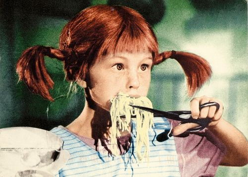 Movies - Pippi Longstocking by 9teen87's Postcards, via Flickr OU Fifi Brindacier le film
