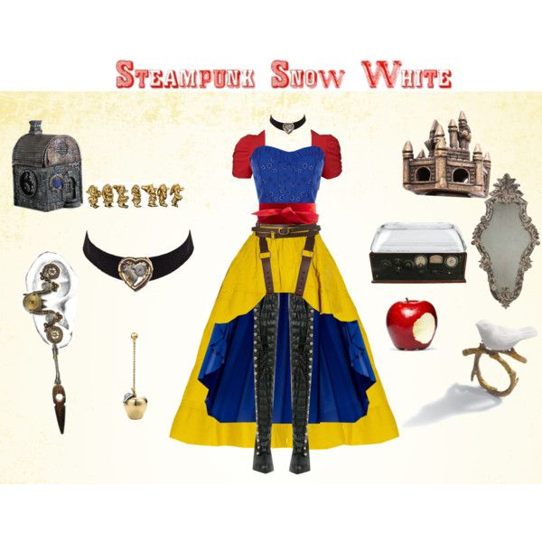 Steampunk Snow White, created by erulisse17 on Polyvore