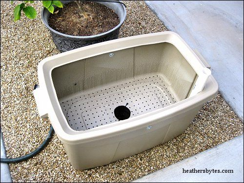 Cool Desert Gardening Container. Maybe My Tomatoes Will Make It In Las Vegas  This Year
