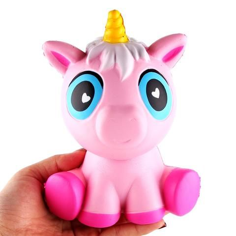 Jumbo Squishy Kawaii Cute Unicorn Pig Soft Slow Rising