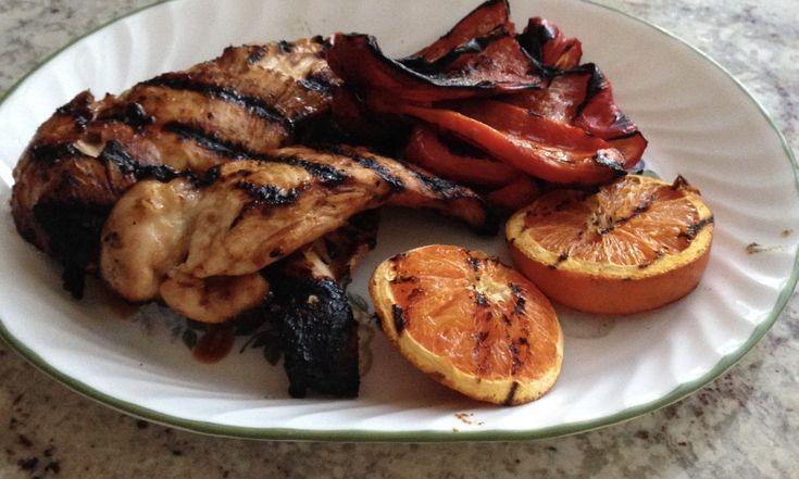 Mexican Orange and Tamarind Glazed Chicken