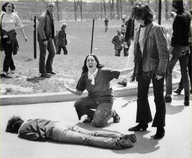 "by John Filo   ""Université d'État Kent-State Shooting"""