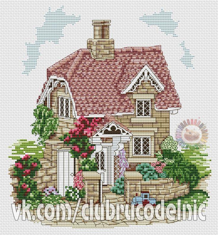 Домики, дворики | 161 фотография