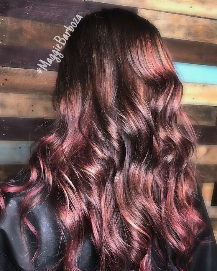 Chocolate Mauve. Just Us Salon. Texas. Redken. City Beats. Redken Shades EQ. Summer 2017. Hair magic. Good hair day.