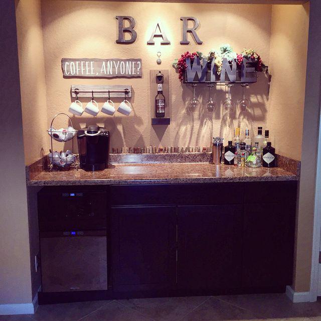 Wine Bar Ideas Home Decorating: Pin By Nicole Da Silva On Decor Ideas