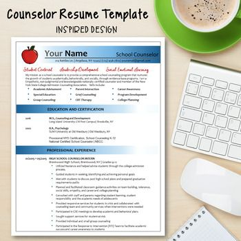 This Counselor Resume Template is designed specifically for counselors!  It's an easy to use template with a Power Resume Tips and Action Words to help craft the perfect resume.This sleek modern  design is easy to use.  Fonts have been embedded, so you do not need to worry about finding the right font to use.