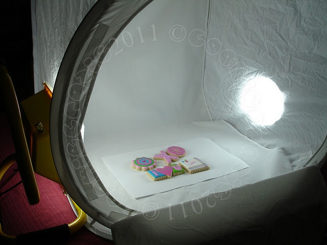 how to make a light tent for photography