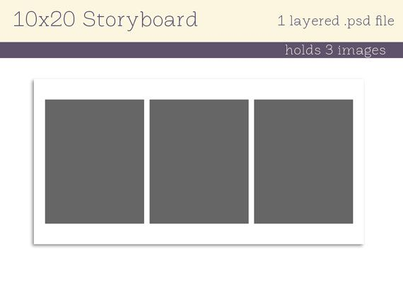 47 best Senior Product Storyboards images on Pinterest - professional storyboard template