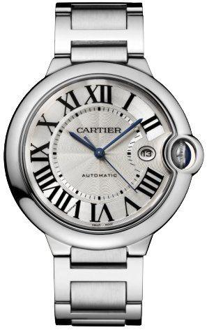 Cartier Men's W69012Z4 Ballon Bleu Stainless Steel Automatic Watch - www.carrywatches.com