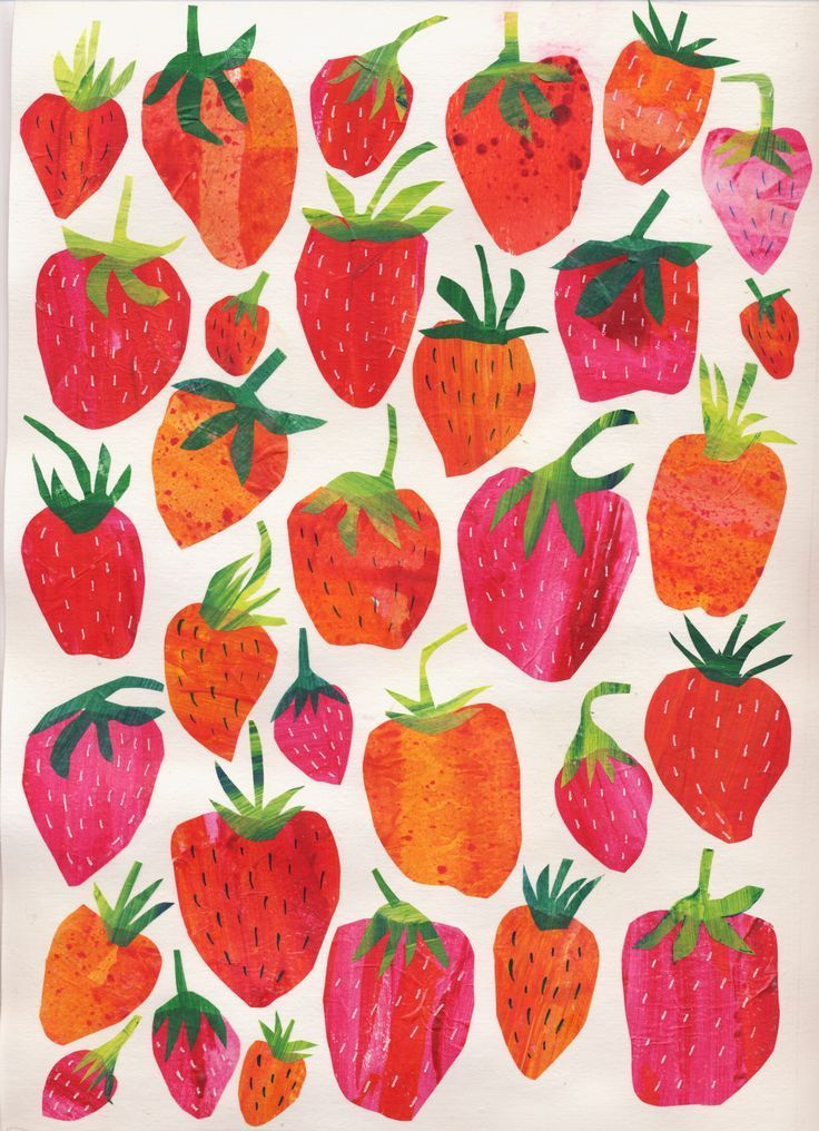 Strawberries by Tracey English