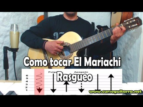 Como tocar El Mariachi -  Rasgueo - YouTube