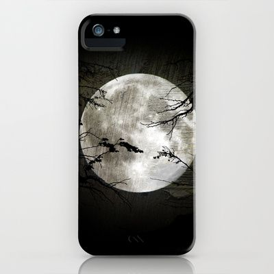 The moon in my hands iPhone & iPod Case by Oscar Tello Muñoz - $35.00