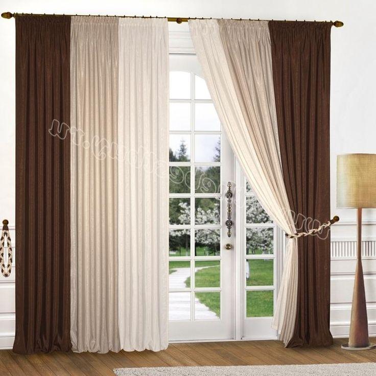 Готовые шторы для гостиной и спальни: Анжелика (арт.