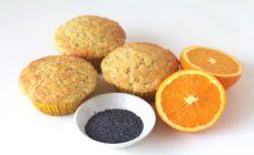 orange and poppyseed muffins