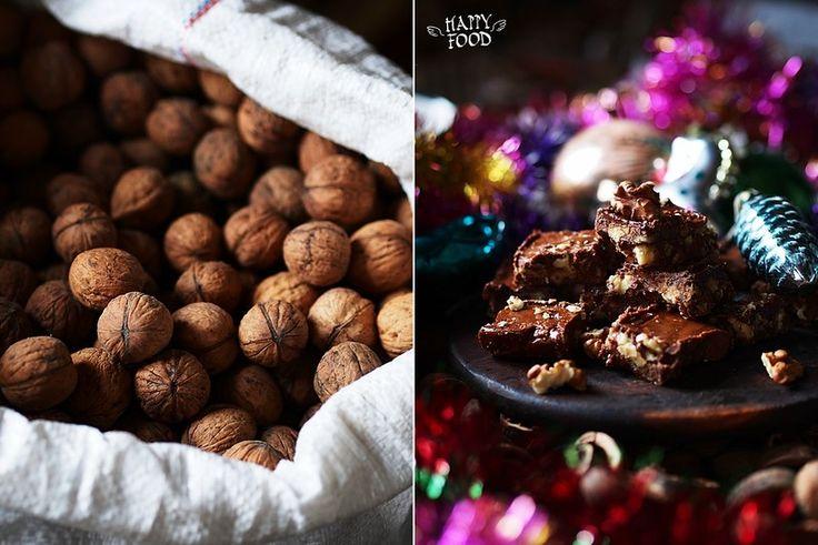 Шоколадно-ореховые ириски/конфеты - HAPPYFOOD