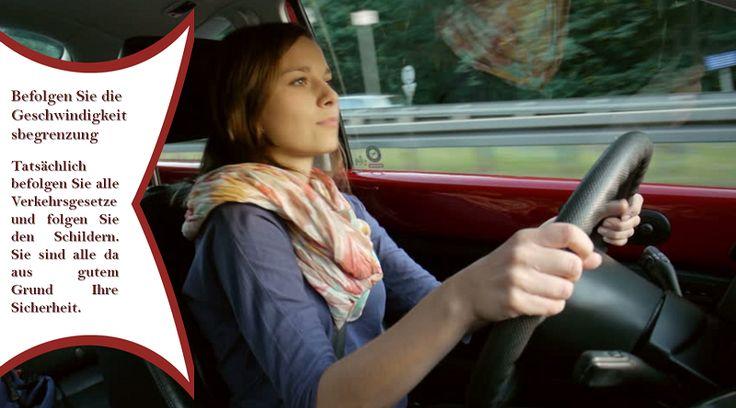 Stick auf die erlaubte Höchstgeschwindigkeit Speeding ist der größte Killer der jungen Fahrer. Die Einhaltung der Geschwindigkeitsbegrenzung wird nicht nur das Risiko eines Unfalls verringern, sondern auch den Fahrern helfen, kostspielige Geldstrafen zu vermeiden, die die Kfz-Versicherungsprämien beeinträchtigen können. #sommerreifen