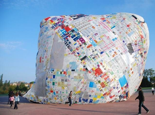 9 Mind Ing Artworks Using Recycled Plastic Bags