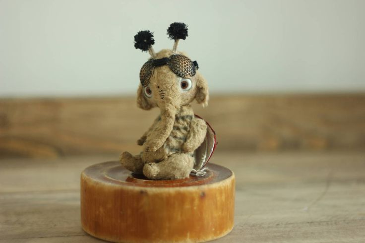 Ladybug elephant by chernyachi on Etsy
