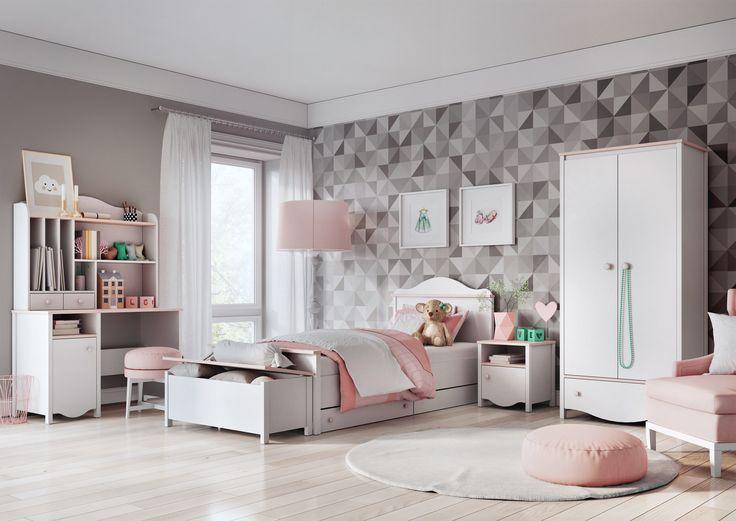 Kolekcja MIA #mia #classic #classicstyle #girlsroom #kidsroom #sweetpink #classicfurniture #forkids #dladzieci #meble #furniture #pokojdzieci #sweet #kidsdesign #kidsinterior #new #nowosc #interiordesign #wnetrzadladzieci #mebledzieciece #dignet #dignetlenart #lenartdesign