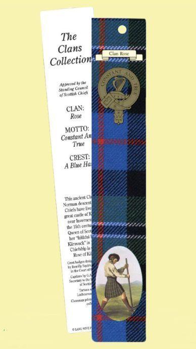For Everything Genealogy - Rose Clan Tartan Rose History Bookmarks Set of 2, $3.00 (http://www.foreverythinggenealogy.com.au/rose-clan-tartan-rose-history-bookmarks-set-of-2/)
