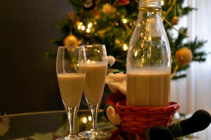 """Cola de mono (literally, monkey's tail) is a traditional Chilean drink served around Christmas time. Although there are many versions of this drink, it contains mainly aguardiente, milk, sugar, coffee, and cloves. After the drink is made, it is chilled and always served cold. A virgin version can be made simply without the alcohol, with families making a batch for the children and one for the grown-ups.  Do you like """"cola de mono """"?. We love it!!!"""