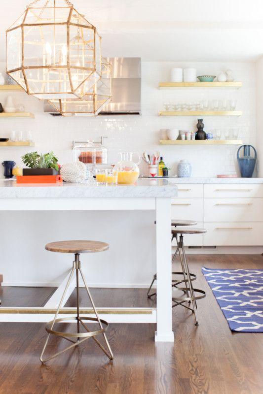 A Modern Kitchen, Fresh and White, @StyleBlueprint Nashville Designed by Gen Sohr of Pencil and Paper Co @Genifer Sohr