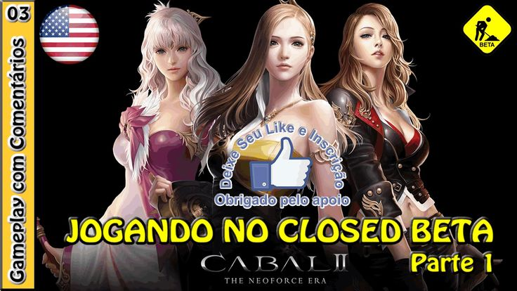 CABAL 2 GAMEPLAY - Primeiro acesso ao Closed Beta (NA) com a PRIEST