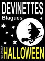 Devinettes d'Halloween. Livre électronique pour enfants. Devinettes d'Halloween pour enfants. Blagues Halloween. Vampires, sorcières et fantômes pour rire.
