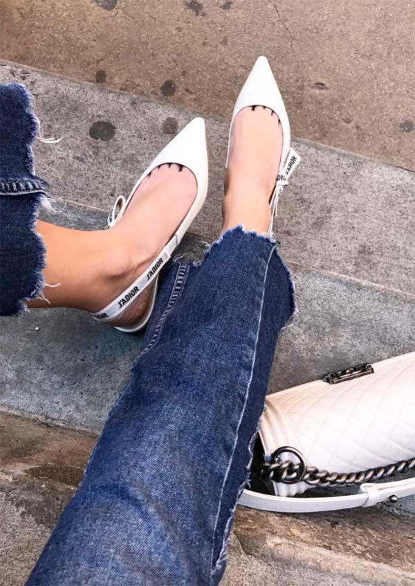 Slingback flats, Dior shoes