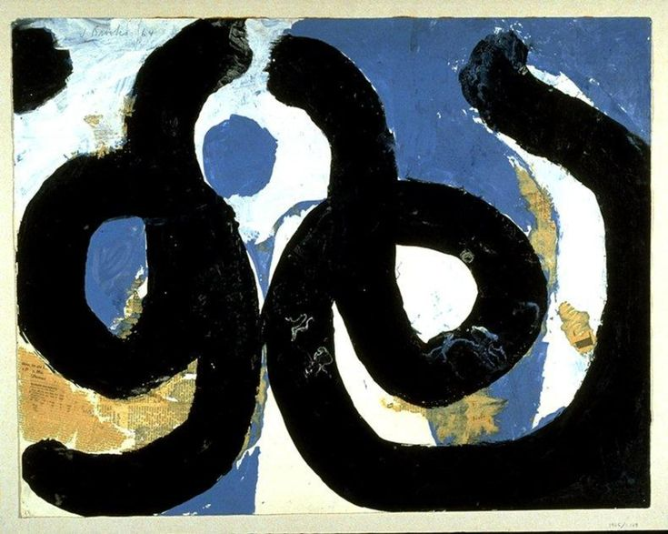 Untitled Artist(s) James Brooks Medium & Support gouache and newspaper collage on paper Object Creation Date 1964