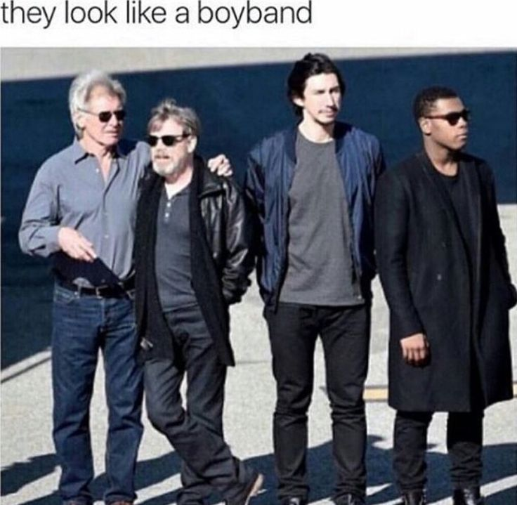 I would listen to them<< the Solo-Skywalkers + Stormtrooper?