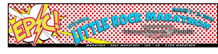 Races to Run: Little Rock Marathon, 1/2 Marathon and 10K (I've done the 10K). The medals for these races are some of the best around.